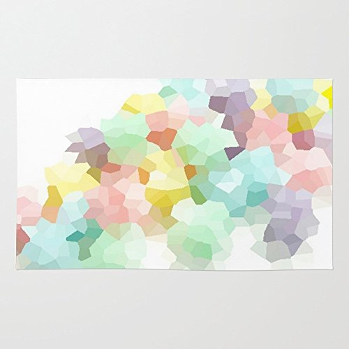 Society6 Pastel Rug 4' x 6' (Area Pastel Rugs)