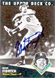 Mark Fidrych autographed baseball card (Detroit Tigers) 1994 Upper Deck All Time Heroes #178 - Autographed Baseball Cards