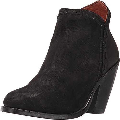 Dan Post Women's Marlena Black Nubuck Fashion Round Toe Boot 8.5 B (M)