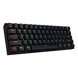 Redragon K530 Draconic 60 Compact RGB Wireless Mechanical Keyboard