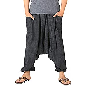 Whitewhale Men's Loose fit Harem Pants