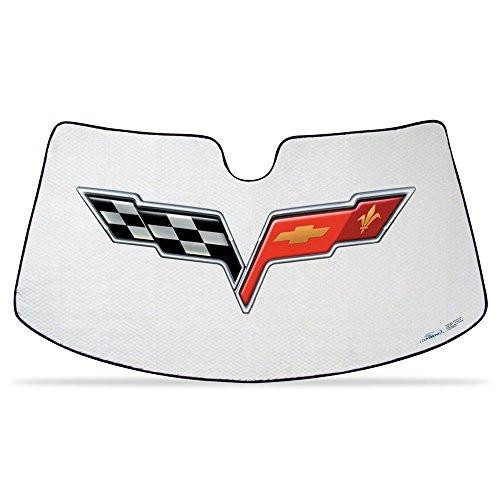 Coverking Custom Sunshade - Coverking 2005-2013 C6 Corvette Folding Custom-Fit Sunshade