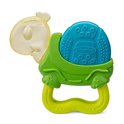 Infantino Vibrating Teether - Turtle: Toys & Games