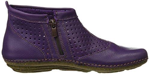 El Naturalista N389 Soft Grain Torcal, Stivaletti Donna Viola (Purple)