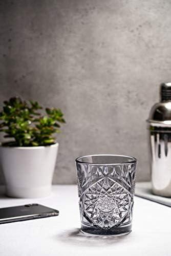 verre /à eau jus de jus assortis 355 ml Libbey Hobstar Lot de 6 verres /à whisky