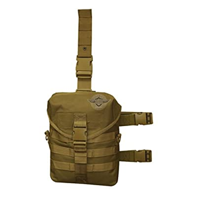 5 Star Gear Drop Leg Gas Mask Carrier