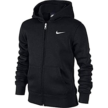 afde0bf14dc Nike - Young Athletes 76 - Brushed Sweat-shirt à capuche zippé - Mixte  Enfant