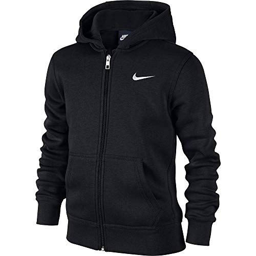 Nike Brushed Fleece Full-Zip (8y-15y) Older Boys Hoodie (
