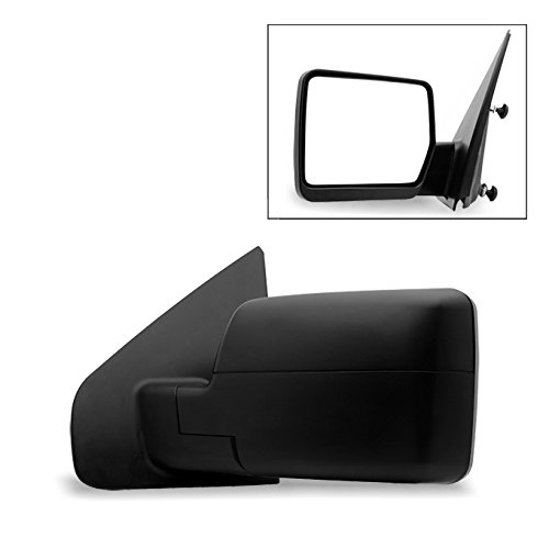 For 2004-2014 Ford F150 F-150 Pickup Truck Extendable Towing Manual Mirrors Driver Left Side Replacement