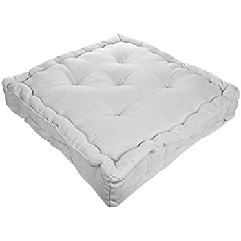 Amazon.com: Collections Etc Tufted Padded Boosted Cushion ...