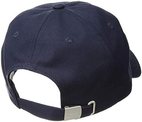 b77728b4 Lacoste Men's Small Croc Strapback Cap, Navy Blue, One Size ...