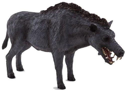 Mojo Fun 387156 Entelodon Daeodon - Realistic Prehistoric Wild Boar / Mammal / Dinosaur Toy Replica - New for (Mammals Animals)