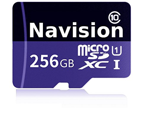 Navision 256GB Micro SD Card High Speed Class 10 Micro SD SDXC Card With SD Adapter