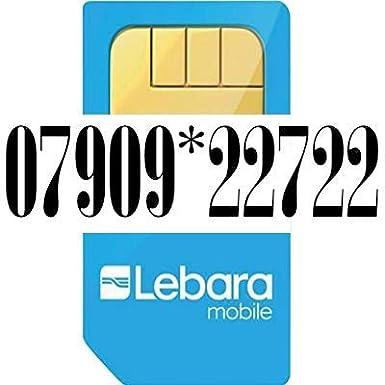 Lebara Golden número Pay as you go Trio Sim Tarjeta.: Amazon.es ...