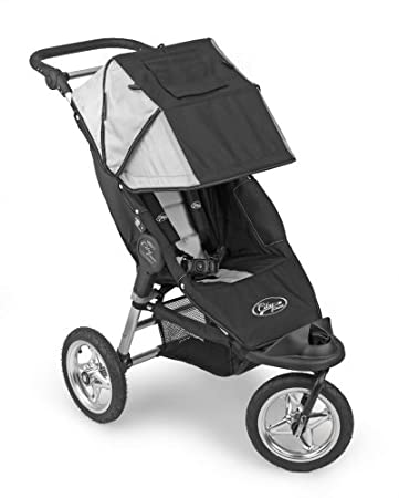 Baby Jogger City Classic Single Stroller Black Silver Discontinued By Manufacturer