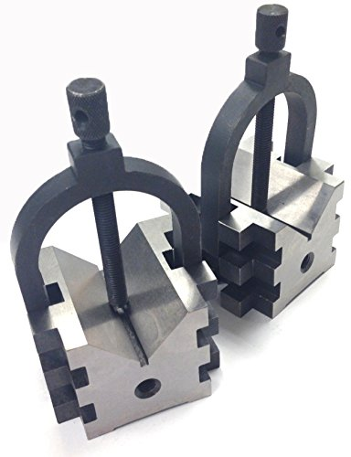 HHIP 3402-0112 Mulit-USE V-Blocks & Clamps Set, 2.5
