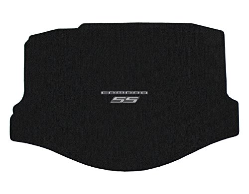 Lloyd Mats - Classic Loop Ebony Standard Trunk Mat for Camaro SS Convertible 2011-15 with Silver Camaro SS ()