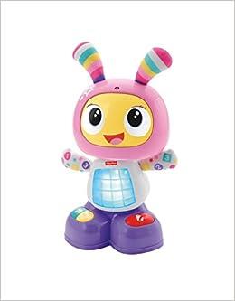 Fisher Price Mon Amie Beba Le Robot Jouet Bebe D Eveil Avec 3 Modes De Jeu Version Allemande 9 Mois Et Plus Dyp08