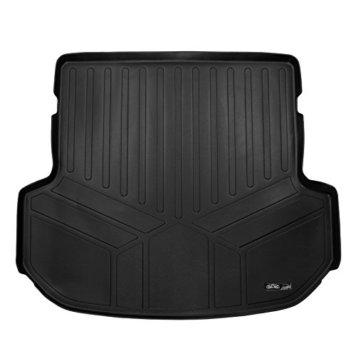 (MAX LINER D0209 All Weather Custom Fit Cargo Trunk Liner Floor Mat Black for 2016-2019 Kia Sorento 5 Passenger Model Only)