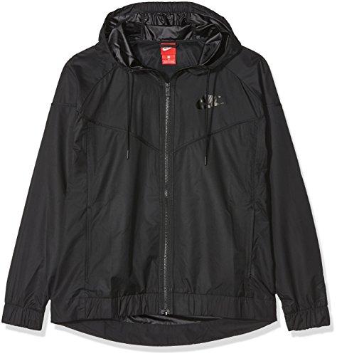 Nike Women's Plus Size Sportswear Windrunner Jacket (Black/Black, 2X) by Nike (Image #1)