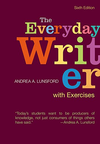 Everyday Writer W/Exercises