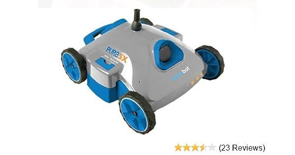 Amazon.com : AquaBot Pura 5X Robotic Swimming Pool Cleaner AJET124 ...