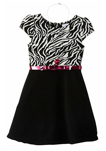 Belted Little Black Dress - 1