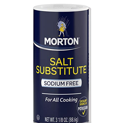 Morton Salt Substitute, 3.12-Ounce (Pack of 6)