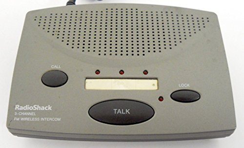 (RadioShack Advanced 3-Station/3-Channel FM Wireless Intercom (43-3105))