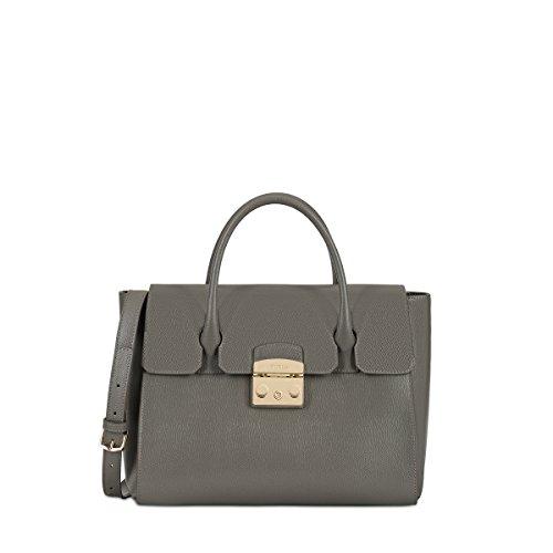Furla Women's Metropolis Medium Satchel Argilla Handbag