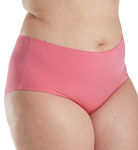 Curvy Couture Everyday Essential Boyshort Panty (1146) 3X/Pink Gardenia