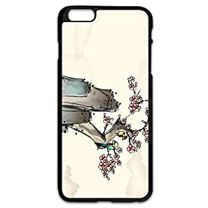 AOPO Phone Cases For IPhone 6 Plus,Ink Painting Personalize Making IPhone 6 Plus Cavers