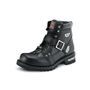 Milwaukee Motorcycle Clothing Company Men's Road Captain Motorcycle Boots (Size 9)