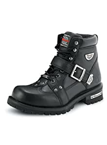 Milwaukee Motorcycle Clothing Company Men's Road Captain Motorcycle Boots (Size 8)