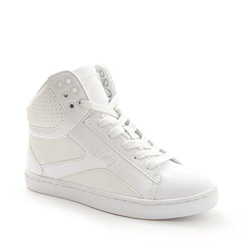 White Pastry - Pastry Adult Pop Tart Glitter Dance Sneaker, White, Size 5