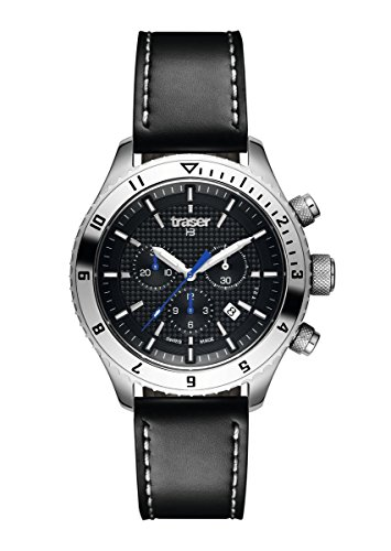 Traser H3 Master Chronograph Watch | Leather Strap