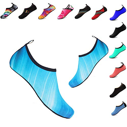 Swimming Yoga Outdoor Aqua Quick Barefoot Beach Women's Pool Dry Surfing Exercise Shoes Socks YALOX Water Men's blue Shoes for Jm IzFZqpYw