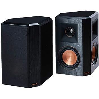 Klipsch Surround Sound >> Amazon Com Klipsch Rp 502s Surround Sound Speakers Pair Ebony
