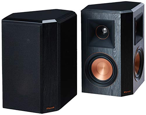 Klipsch RP-502S Surround Sound Speakers (Pair) (Ebony)