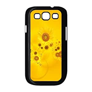 Case Of Sunflower Customized Hard Case For Samsung Galaxy S3 I9300