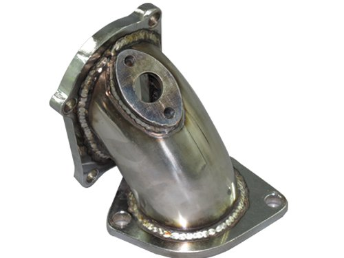 Downpipe O2 Housing (Turbo Elbow pipe O2 housing Stainless for 86-92 Supra 7MGTE)