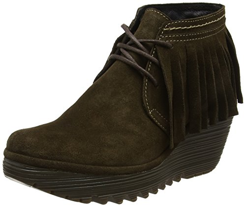 Olive Fly Femmes Fly London London boue Bottes Brune Yank774fly q8a4dvw
