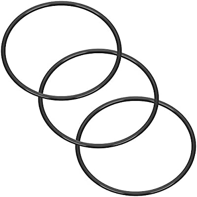 """(3 Pack) O-Ring Replacements for Standard 10"""" Reverse Osmosis Water Filter Housings, Universal Fit"""