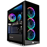 iBUYPOWER Gaming PC Computer Desktop Element MR 9320 (Intel i7-10700F 2.9GHz, NVIDIA GTX 1660 Ti 6GB, 16GB DDR4 RAM, 240GB SSD, 1TB HDD, Wi-Fi ready, Windows 10 Home)