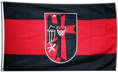 Flagge Sudetenland mit Wappen 90 x 150 cm