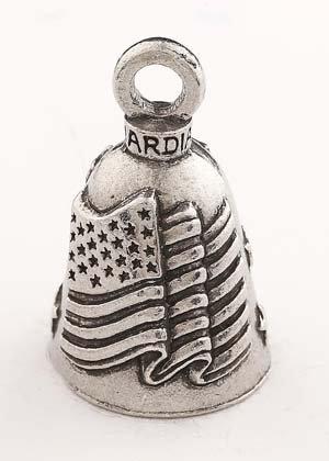 American Flag Guardian Bell,