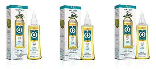 [ TREND PACK OF 3] ORS WELLNESS Hair & Scalp OIL 3.4 OZ (TEA TREE) Scalp Relief Soothes & - Oil Wellness Soothe