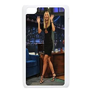 Tyquin Maria Sharapova 's Black Dress Cases for Ipod Touch 4 Funny Cute, Case for Ipod Touch 4th for Guys Design with White