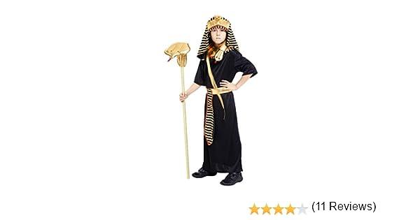 JT-Amigo Disfraz de Faraón Egipcio para Niño, 4-5 años: Amazon.es ...
