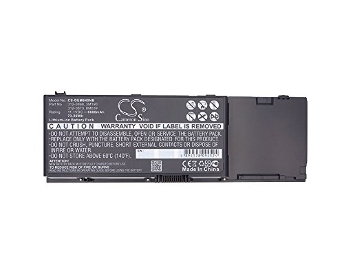 Cameron Sino 4747mAh Replacement Battery Compatible With DELL 312-0873 by Cameron Sino (Image #2)